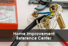 Electric connector and volt meter representing Home Improvement database