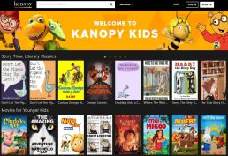 Kanopy Kids Homepage