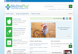 Medline Plus Homepage