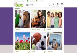 Kids InfoBits Homepage